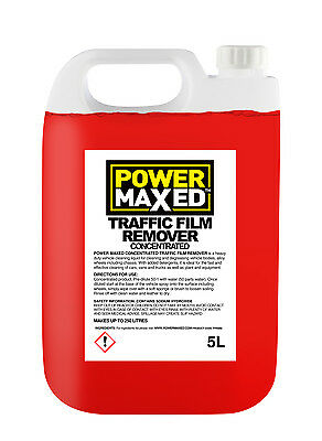 5L Power Maxed Traffic Film Remover Concentrate