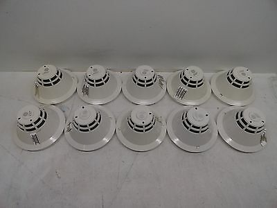 Lot Of 10 Siga-Phs Intelligent Photo/heat Detector Est Edwards W Base Gsa-Sb Ge