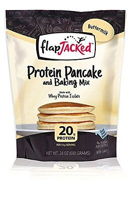 FlapJacked Protein Pancake and Baking Mix Buttermilk 24 Ounce {Baking Mixes} NEW
