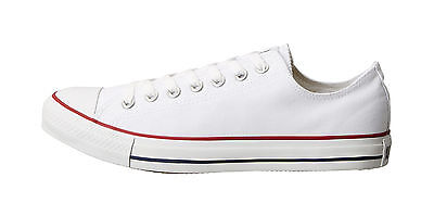 Converse Shoes Classic Chuck Taylor Low Top Optical White Fashion Women M7652