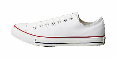 Converse Men's Shoes Classic Chuck Taylor All Star Low Top Optical White M7652