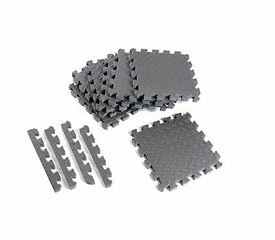 CAP Barbell Antimicrobial Foam Tile Puzzle Mat 12 Pieces 3/4 High Density Foam