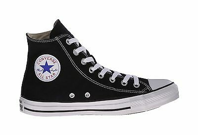Converse Chuck Taylor All Star Hi Top Black White Shoes Women Sneakers M9160