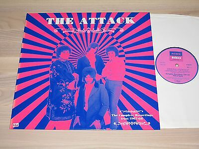 THE ATTACK LP - THE COMPLETE RECORDINGS FROM 1967-68 / ACME DELUXE PRESS in MINT