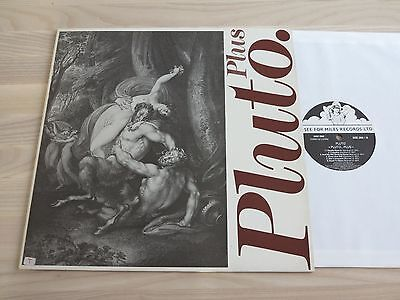 PLUTO LP - Pluto PLUS / 1989 UK SEE FOR MILES REEDICIÓN in MINT