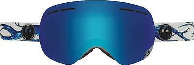 2016 Dragon X1s Frameless Snow Goggles Form - Blue Steel + Yellow Red Ion Lens