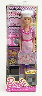 Mattel BDT28 Barbie I Can Be... Career - Cookie Chef 30cm Doll