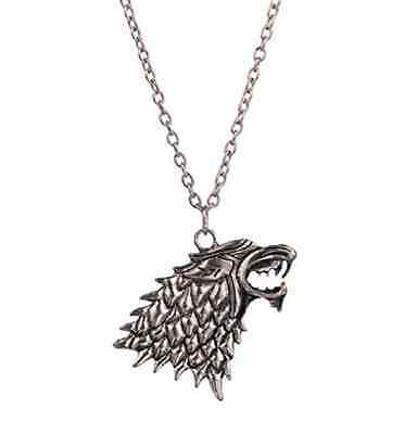 Collana Metalupo Della Casata Stark  Game Of Thrones Trono Di Spade  Jon Snow
