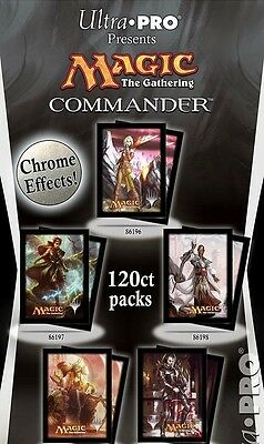 ULTRA PRO Sleeves 120 Deck Protectors MTG MAGIC Commander 2014 CHOOSE YOURS!