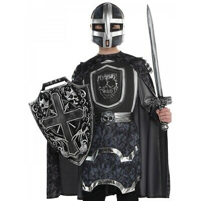 Toy Sword and Shield Kids Medieval Knight Costume Halloween Fancy Dress