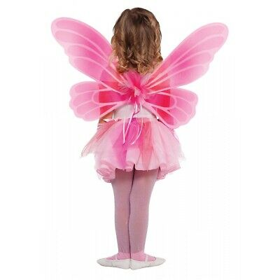 Pink Butterfly Fairy Wings Costume Accessory Kids Halloween