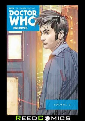 DOCTOR WHO 10th ARCHIVES OMNIBUS VOLUME 3 GRAPHIC NOVEL New Paperback
