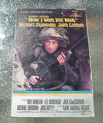 "John Lennon ""How I Won the War"" Beta Video (1984) MGM/UA NTSC RARE!!!"