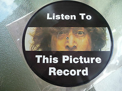 """John Lennon 12"""" 33rpm LP Listen to this Picture Record 1975"""