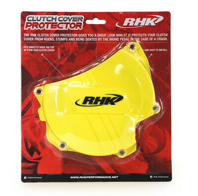 Suzuki Rmz450 2008 - 2017 Rhk Clutch Cover Protector Yellow