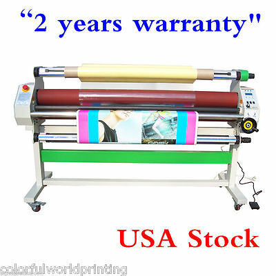 "USA Stock-AC110V 60"" Economical Full - auto Low Temp Wide Format Cold Laminator"