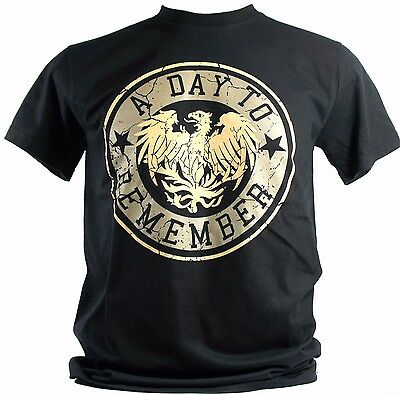 A Day To Remember - Unisex Black Rock Band Round Neck T-Shirts 100% Cotton