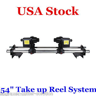 "USA Stock-54"" Automatic Media Take up Reel System for Mutoh Mimaki Roland Epson"