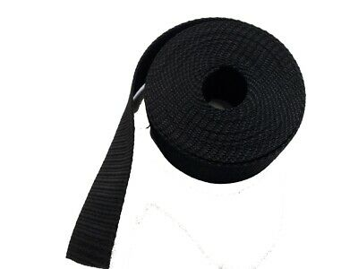 50MM Polypropylene Webbing 5 Metre Black