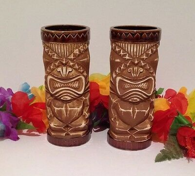 Orchids Of Hawaii Tiki Mugs Lot Of 2