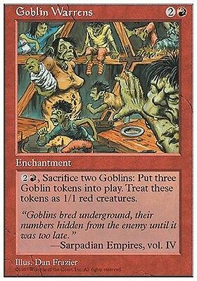 Asilo dei Goblin - Goblin Warrens MTG MAGIC 5E Eng