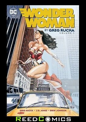 WONDER WOMAN BY GREG RUCKA VOLUME 1 GRAPHIC NOVEL Collects (1987) #195-205