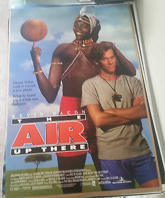 The Air Up There (1994) Original Movie Poster 27x40 Double Sided Kevin Bacon