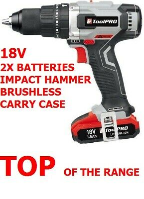 Cordless 18V Wesco Drill Impact Driver Combo Li-Ion Screwdriver 2 Batteries Wow