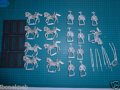 Ral Partha Warhammer Chaos Mounted Knights Lancer Army Lot