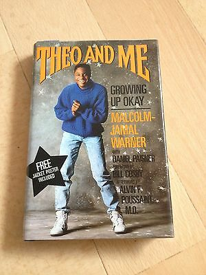 Theo And Me, Growing Up Ok, Malcolm Jamal Warner, Hardcover Wjacket,