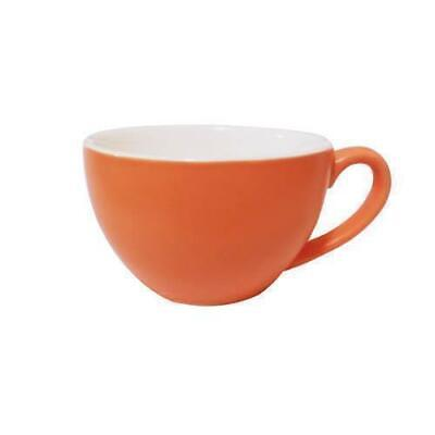 6x Cappuccino Cup Jaffa Orange 200mL Bevande Coffee Tea Hot Chocolate Cups