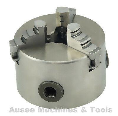 3-Jaw Self Centering Lathe Chuck ( 80mm / 100mm / 125mm )