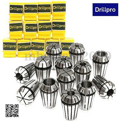 13PCS ER20 1-13mm HSS Spring Collet Set for CNC Milling Engraving Machine Lathe