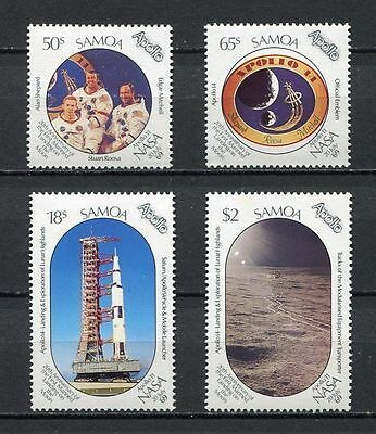 Samoa 1989 First Manned Landing on Moon MNH