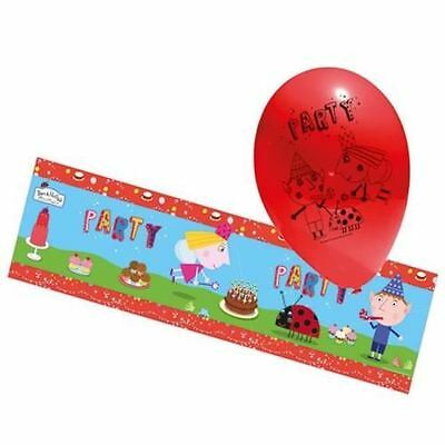 Ben And Holly Balloon & Banner Pack Childrens Birthday Party Decorations