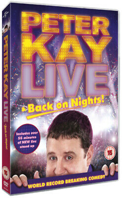 Peter Kay: Live and Back On Nights DVD (2012) Peter Kay
