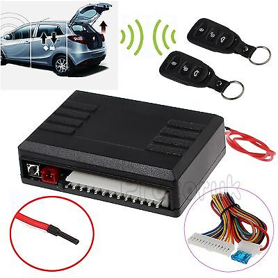 Car Remote Central Kit Security Door Locking Vehicle  Keyless Entry System DT UK