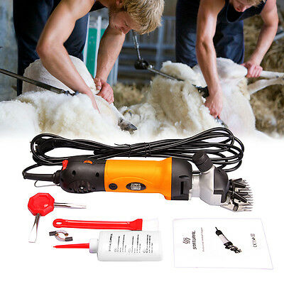 380W Electric Sheep Shearing Clipper Shear Goat Shears Supplies Hand Tool Farm