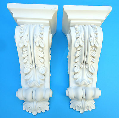 Pair of Corbels - Quality Strong Resin - Not Polystyrene  - 312 x 137 x 136mm