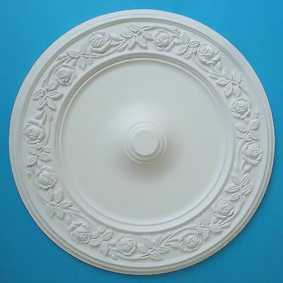 Ceiling Rose Strong Lightweight Resin (Not Polystyrene) Size 556mm 'Rosaria'