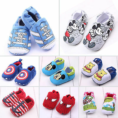 Baby Boy Girl Infant Toddler Winter First Shoes Soft Indoor Slippers 0-18 Months