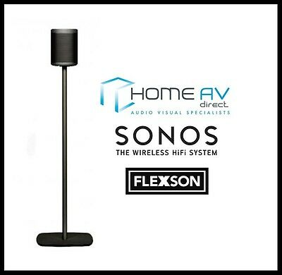 Flexson FLXP1FS1021 Floor Stand / Mount GEN 1 for Sonos PLAY:1 - Single Black