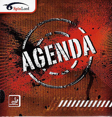 Spinlord Agenda Long Pimple Table Tennis Rubber Official Uk