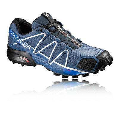 Salomon Speedcross 4 Hommes Bleu Trial Running Chaussures Baskets Sneakers Sport
