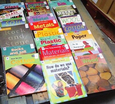 MATERIALS: Box of 23 Children's Educational Books