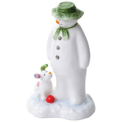 John Beswick The Snowman & The Snowdog Earthenware Figure