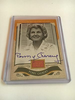 Penny Chenery Autograph Secretariat Owner Auto MINT Triple Crown Horse Racing