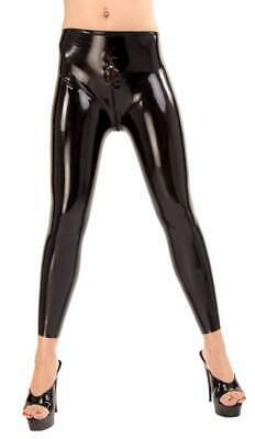 Anita Berg - Lange Latex Leggings mit Zip in diversen Farben