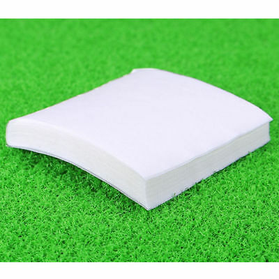 50x Anti-static Lint-free Wipes Dust Free Paper Dust Paper Fiber Optic Tool New