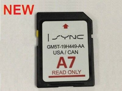 New Ford A7 U.s. Canada Sync 2016 Navigation Sd Card Map Update Gm5T-19H449-Aa